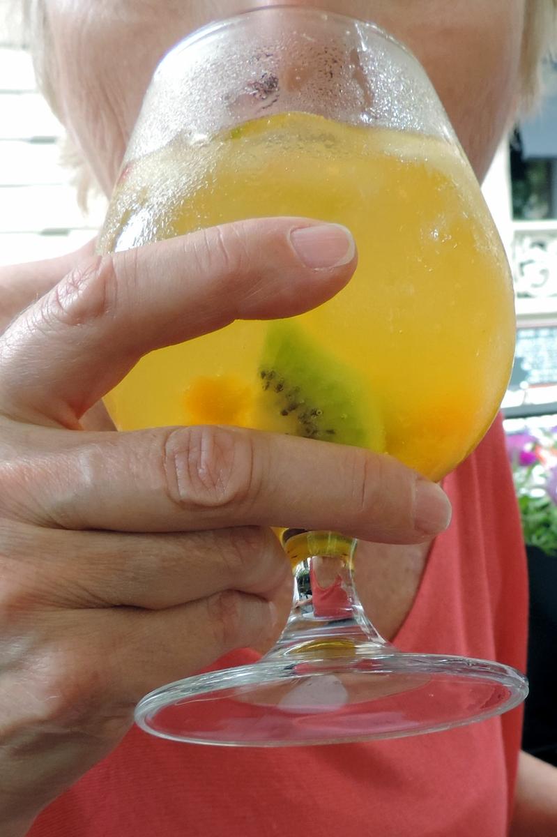 Drinking Sangria