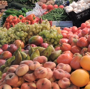 Fruits, Vegetables Market