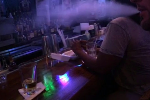 e-cigarette - vaping smoke