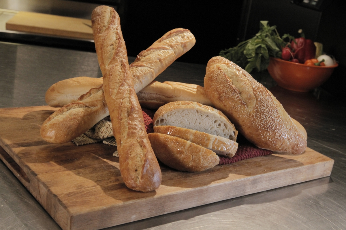 Loaves of bread - assorted