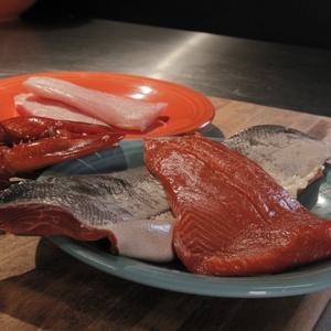 Salmon - raw