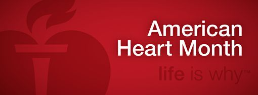 Image result for free small February Heart month awareness image