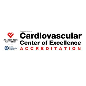 Cardiovascular Center of Excellence Accredidation logo