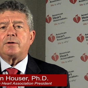 AHA president, Steven Houser on Getting Active - with graphics