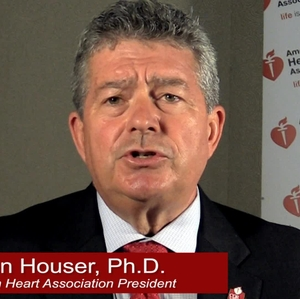 AHA president, Steven Houser on AHA Scientific Mtgs - with graphics
