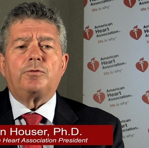 AHA president, Steven Houser on AHA Advocacy - with graphics