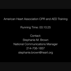AHA CPR-AED 2017 B-roll Package -Closed Caption on screen