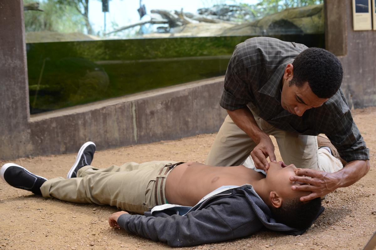 CPR reenactment
