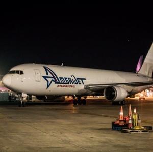 Amerijet International Airplane