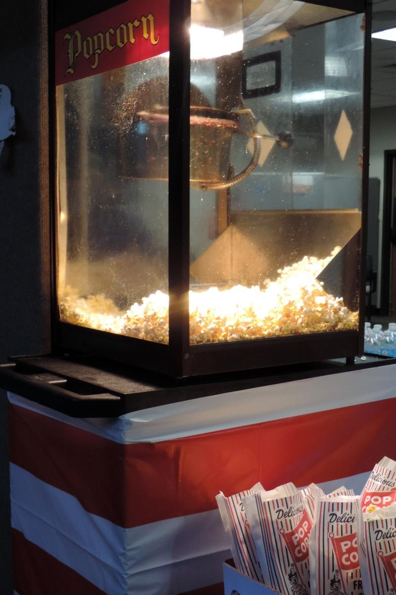 popcorn - unbuttered- no salt