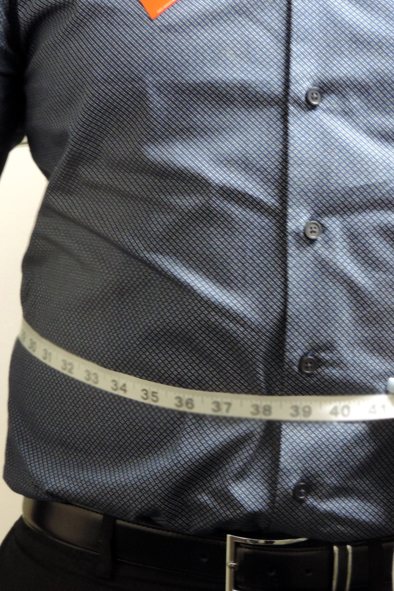 Waist measurement - man
