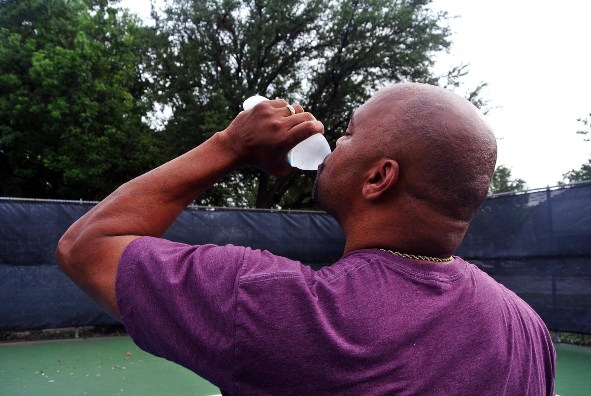 Man drinking water3
