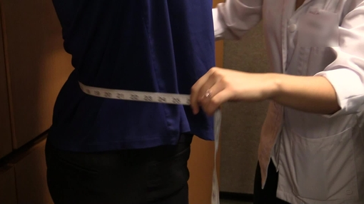 Body Measurements B-roll