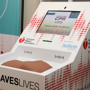 Kiosk to Learn CPR