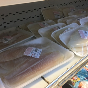 Packaged fish