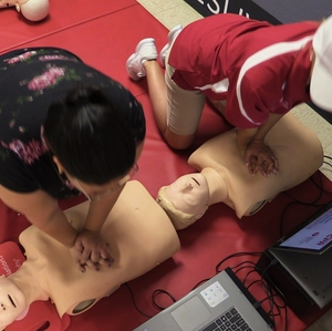 CPR compression test