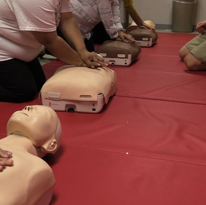 CPR group demonstration