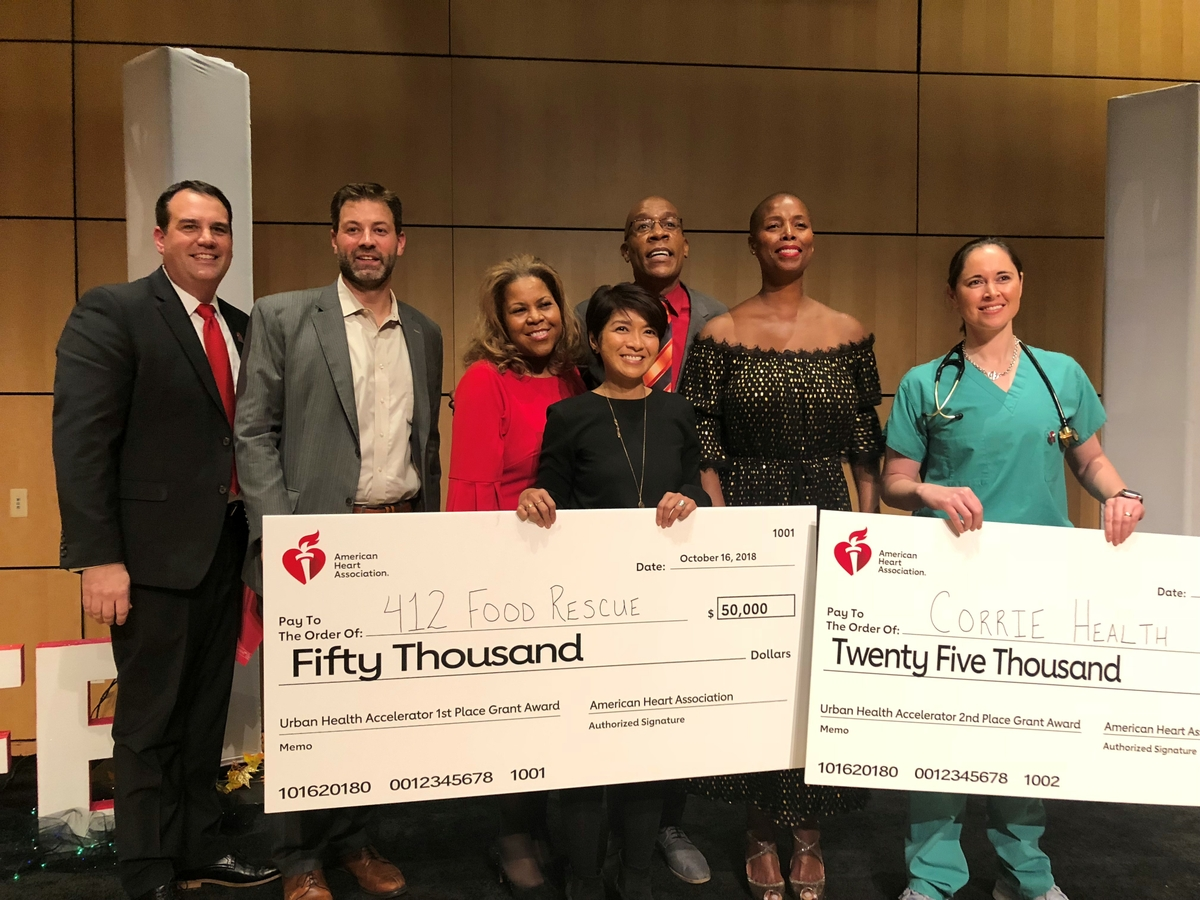 Urban Health Accelerator grant recipients