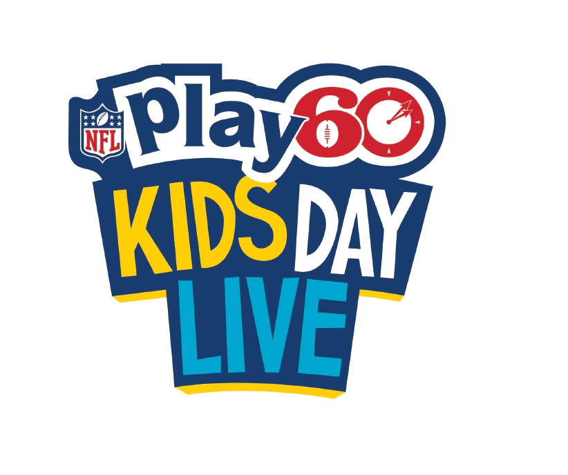 NFL PLAY 60 Kids Day Live Logo