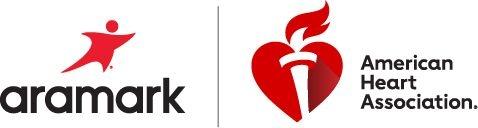 AHA, Aramark joint logo