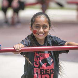 Kids Heart Challenge Participant