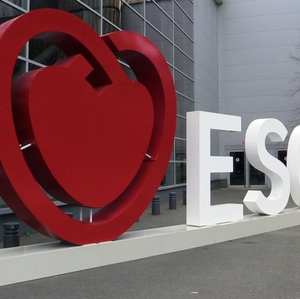 ESC 3D outdoor heart and ESC logo