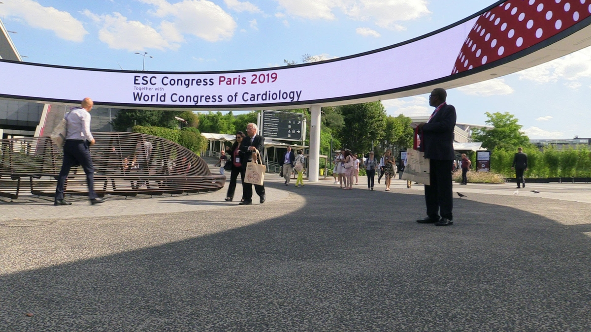 ESC 2019 welcome sign