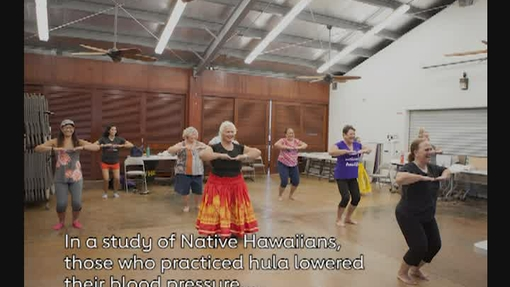 Native Hawaiians lowered blood pressure with hula dancing- video