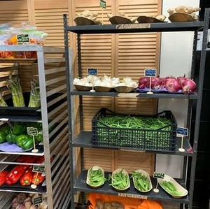 Forty Acres Fresh Market fruits and veggies