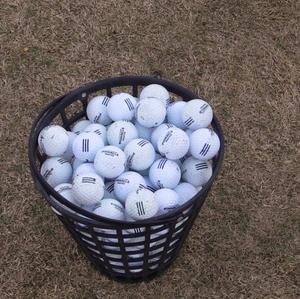 Bucket of golf balls