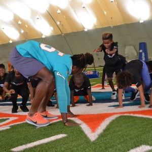 NFL Play 60 in action