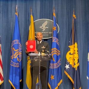 Surgeon General Adams holds Smoking Cessation Report