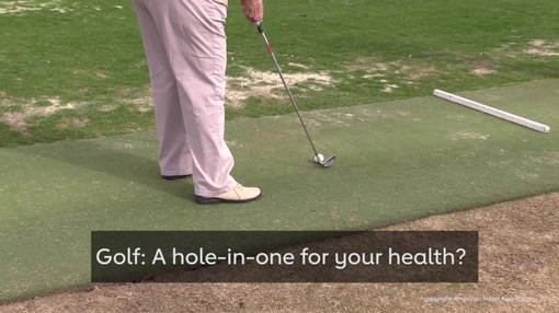 Golfing regularly could be a hole-in-one for older adults' health - video