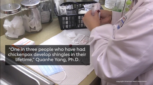 Shingles vaccine may also reduce stroke risk- video