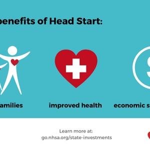 Head Start benefits infographic