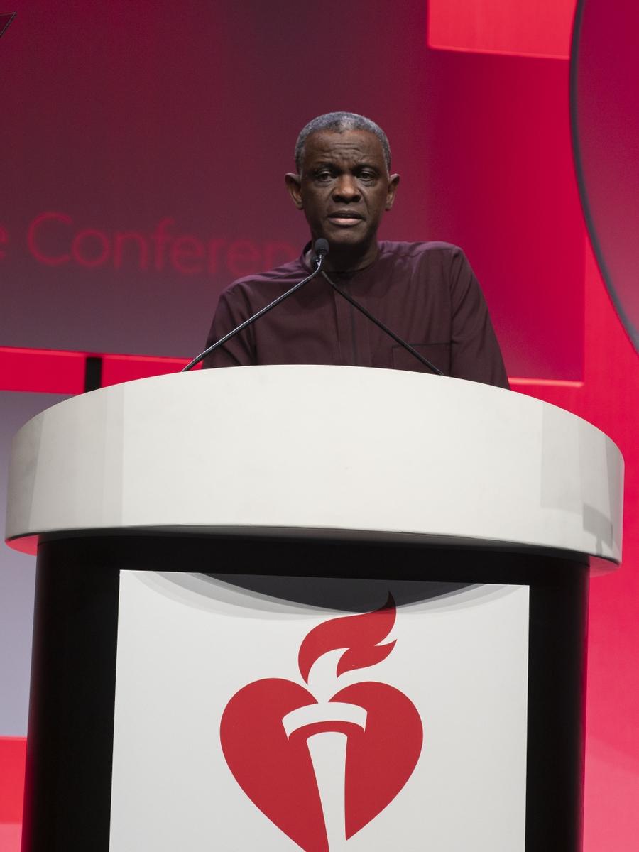 Gbenga Ogedegbe, M.D.,  presents LB 19