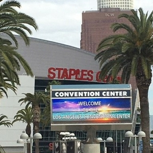 ISC20 - LA Convention Center sign