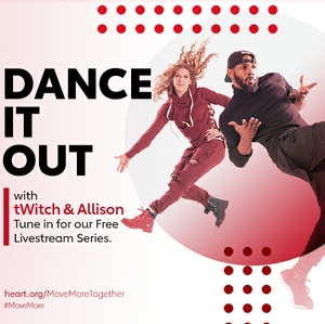 Move through the tough times, together, with tWitch and Allison Boss, dancing duo and TV personalities