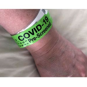COVID-19 ER pre-screening band