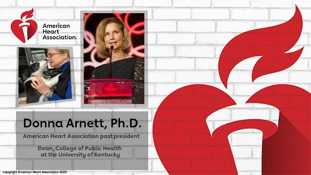 Donna Arnett Ph.D. newly adopted puppy