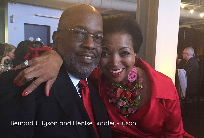 Bernard J. Tyson and Denise Bradley-Tyson