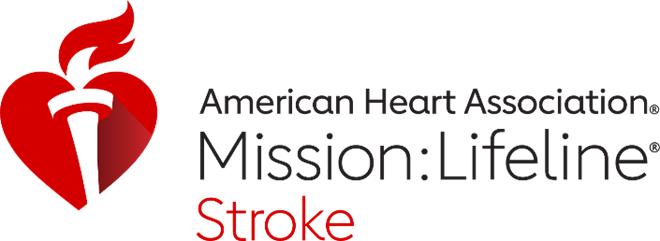 Mission Lifeline Stroke logo
