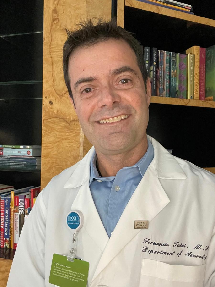 Fernando D. Testai M.D. Ph.D. FAHA
