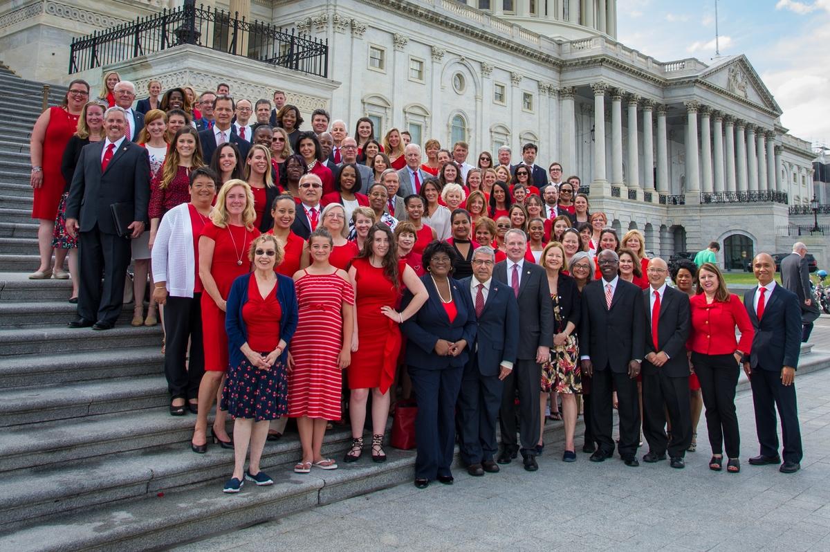 AHA 2017 Federal Lobby Day Group Photo