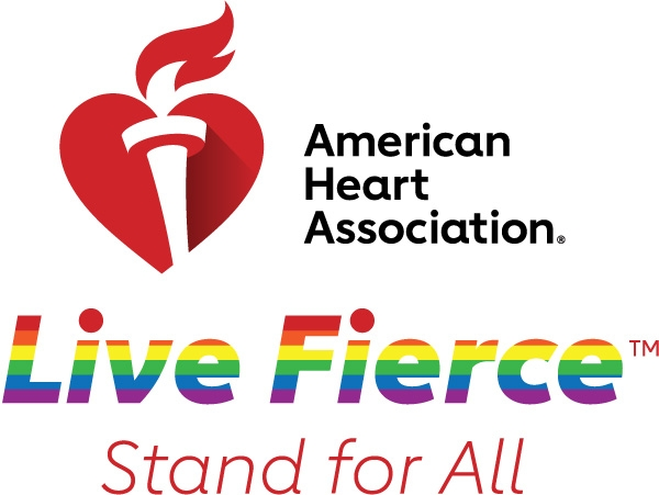 AHA Pride Stand for All logo