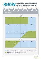 Obamacare OEP Calendar (2014-2015)