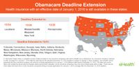 December 15 Obamacare Deadline Extensions (2015)