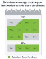 Short-Term Insurance Enrollment Calendar