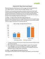 eHealth 2019 Open Enrollment Report