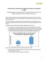 Insurer Insights Into the Short-Term Market in 2019 - eHealth Survey